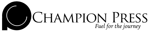 Champion Press Logo Slogan
